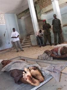 Somalis, Mogadišas, 2009 - islamistinių teroristų nužudyti žmonės