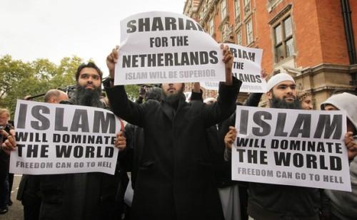 Islamistai Londone 2009