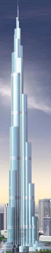Aukščiausias pasaulio dangoraižis Dubajuje