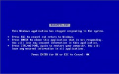 Blue Screen Of Death - BSOD