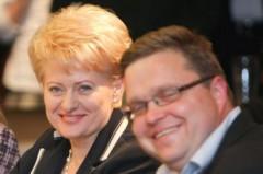 Dalia Grybauskaitė ir Vitas Vasiliauskas