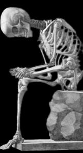 Skeletas - dar vienas baltas daiktas