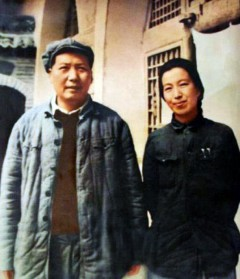 Mao Dzedunas ir Jiang Quing 1946 metais
