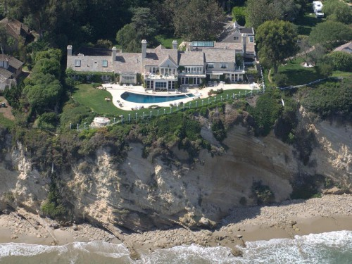 Barbra Streisand house