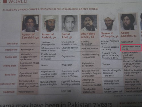 Adam Gadahn, Osama bin Laden, Al Quaeda