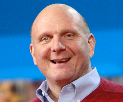 Steve Ballmer, Microsoft
