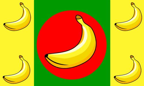 Bananistano vėliava