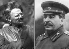 Leonas Trotskis ir Josifas Stalinas