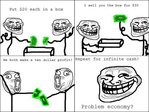 Paprastas būdas daryti pinigus