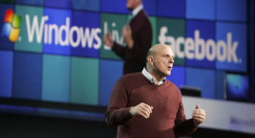 Steve Ballmer, Facebook ir Windows