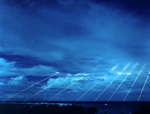 MX Peacekeeper raketos bandymai