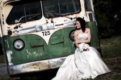 Nuotaka ir senas autobusas