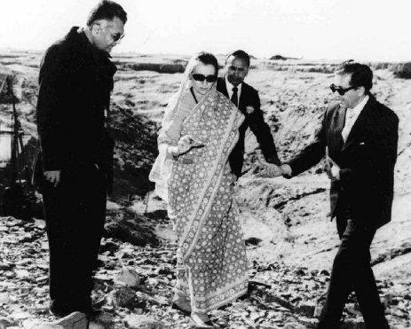 Indira Gandi Pokhran bandymų poligone, 1974 metai