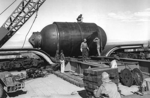 Trinity testas, Jumbo cisterna