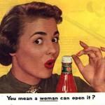 Ar tikrai, ar tikrai net ir man užteks proto, kad išmokčiau atidaryti butelį su Del Monte ketčupu?