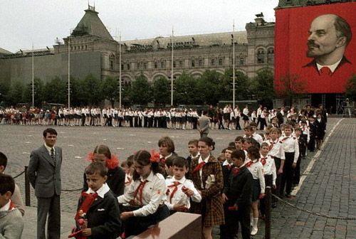 Eilė į Lenino mauzoliejų