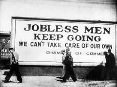 Bedarbiai JAV Didžiosios depresijos metu
