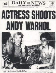 Andy Warhol ir Valerie Solanas