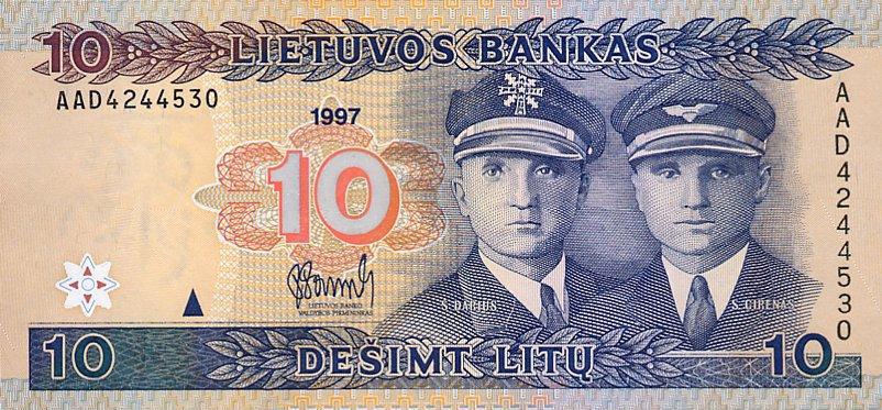 10 litų, 1997 laida