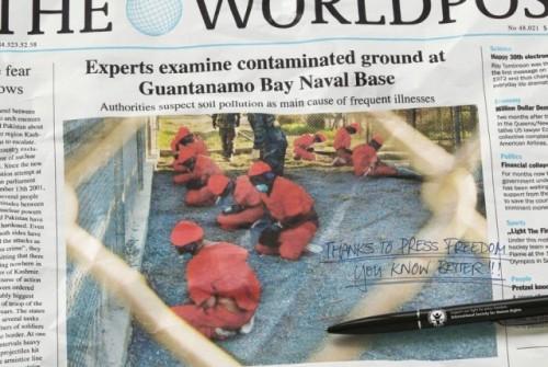 Gvantaname nėra kalinių, užtat yra labai geras cheminių tyrimų centras, kur CŽV gelbsti žmones