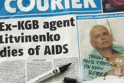 Aleksandras Litvinenka numirė ne nuo polonio, o nuo AIDS, o KGB/FSB labai liūdi dėl to įvykio