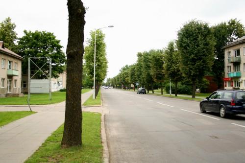 Kaišiadorys, pagrindinė Gedimino gatvė
