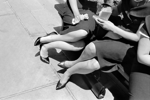 Henri Cartier Bresson. San Franciskas, kojos. 1960.