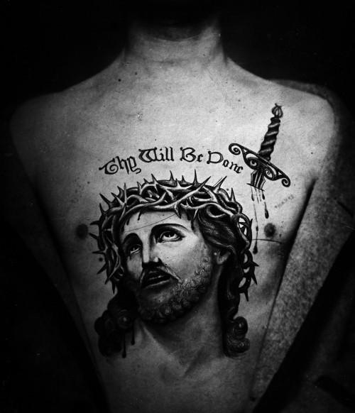 Tatuiruotė, Jėzus Kristus, 1899
