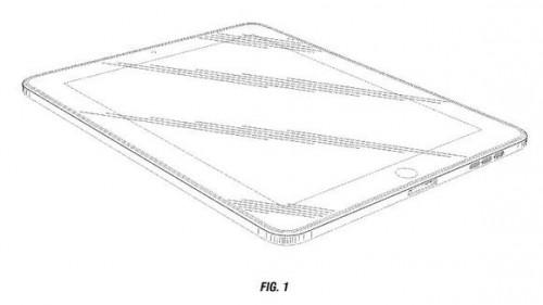 Apple patentas, suapvalinti stačiakampio kampai