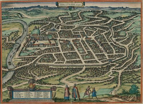 Braun Hogenberg atlasas, Vilnius, Lietuva