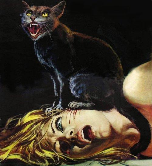 Katė žudikė ėda žmonių smegenis naktimis, todėl niekada niekada nemiegokite su katėmis viename kambaryje.