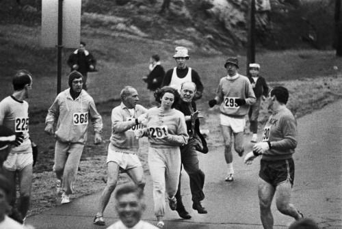 Kathrine Switzer, Bostono maratonas, 1967 metai