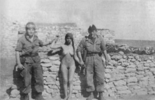 Prancūzų kariai Alžyre