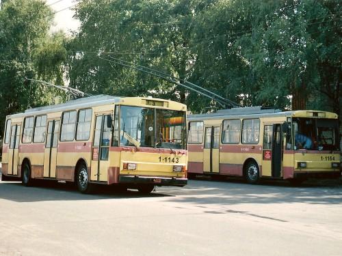Troleibusai Škoda 14Tr