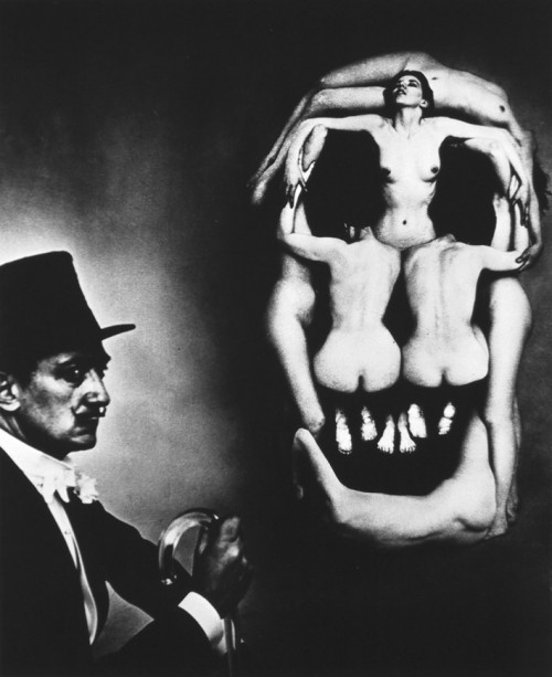 In Voluptate Mors. Salvador Dali ir Philippe Halsman, 1951