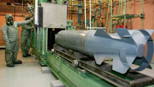Rusija. Naikinamas sovietinių laikų cheminis ginklas.