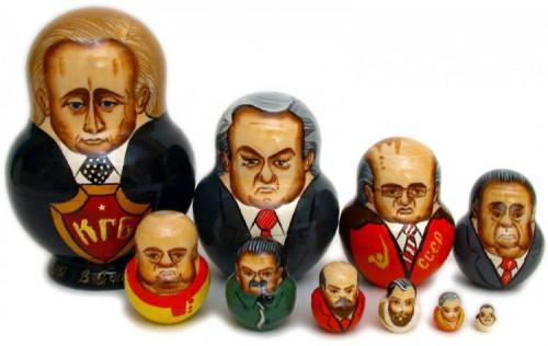 Nereikia net aiškintis, kas yra užgrobęs valdžią Rusijoje - buvęs nusikalstamos KGB veikėjas. Nedaug aiškintis tereikia ir apie visokius vietinius kovotojus prieš globalizmą - iš ten irgi kyšo gauruotos ausys.