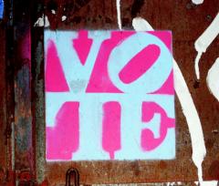 Balsuokim. Bet už ką?