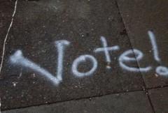 Balsuok greičiau!