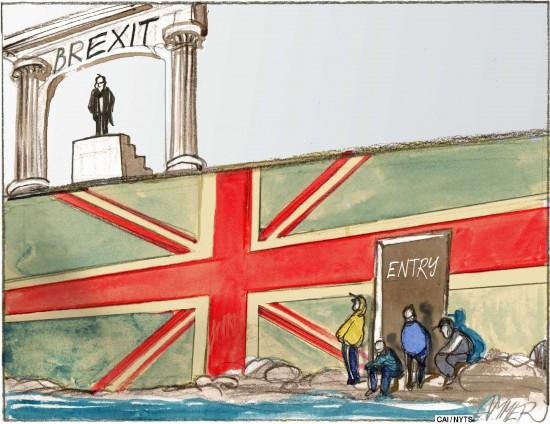 Išdidžiai Didžioji Britanija išeina iš Europos Sąjungos. Išties ne. Realiai ji ir nebuvo pilnai ES, realiai ji pasiliks beveik ES. Kita vertus, išstojimo pasekmės jų tikrai nepradžiugins.