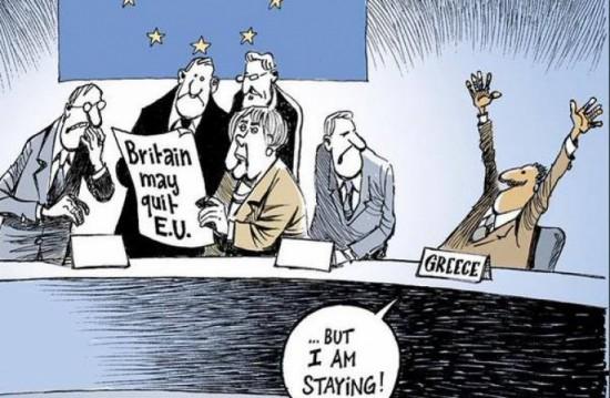 Kokia nors Graikija, kad ir visaip referendumais balsavusi, pasiliko ir pasiliks Europos Sąjungoje. Ir tai yra blogiau, nei Didžiosios Britanijos išėjimas. Europos biurokratai iš esmės nieko nesugebėjo sutvarkyti su Graikija. Ir niekas nesikeis. Kad ir kaip bebūtų liūdna, gerų prognozių čia nėra.