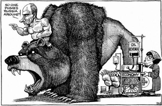 Rusijos ekonomika iš esmės priklauso nuo to, kiek Europa iš jos susiimportuos dujų ir naftos. Visa kita - tiesiog burbulas ir vis nykstantys rezervai, sukaupti tais laikais, kai jie dar nebandė užpuldinėti aplinkinių šalių. Brexit sukeltos bangos tą labai aiškiai rodo. Kita vertus, Rusijos pozicija aiški - šantažuoti aplinkines šalis, grasinant karine jėga. Ir dujas Vladimiras Putinas mato tik kaip šantažo įrankį, kuris leidžia dar ir pinigų gauti.